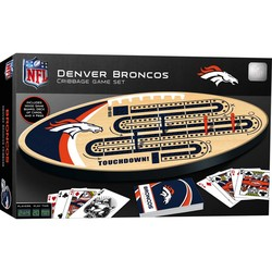 Denver Broncos Cribbage Game Board