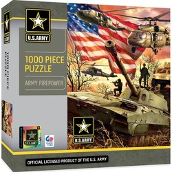 U.S. Army - Army Firepower 1000 Piece