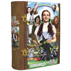 Wizard of Oz Book Box - Dorothy & Friends 1000 Piece Jigsaw Puzzle