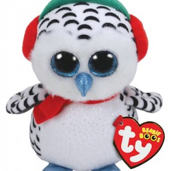 "Beanie Boos - Holiday Nester Owl - Medium 13"""
