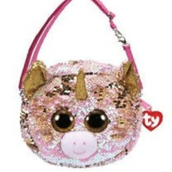 Ty Fashion - Flippables Purse - Fantasia Unicorn