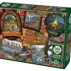 Cabin Signs 1000 Piece Puzzle