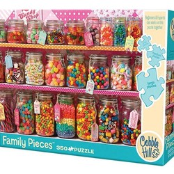 Candy Counter Family 350 Piece Puzzle