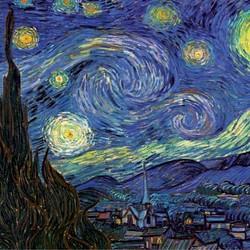 The Starry Night Van Gogh - 1000 Piece Puzzle