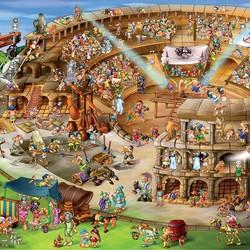 Roman Amphitheatre 1000 Piece Puzzle