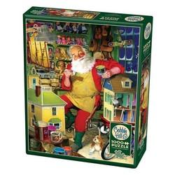 Santa's Workshop 1000 Piece Puzzle