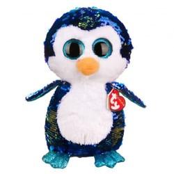 "Beanie Boos - Flippables - Payton Penguin - Medium 13"""