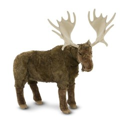 Moose - Lifelike Animal Giant Plush