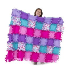 Created by Me! Flower Fleece Quilt