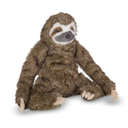 Giant Plush Lifelike Sloth