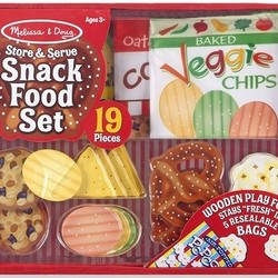 Store and Serve Snack Food Set