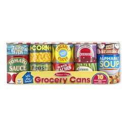 Let's Play House! Grocery Cans Set