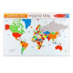 Learning Mats - World Map