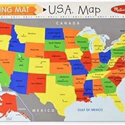 Learning Mats - U.S.A. Map
