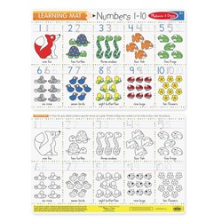 Learning Mats - Numbers 1-10