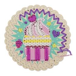 Stitch by Color Cute Cupcake