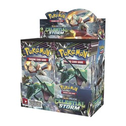 Pokemon TCG: Sun & Moon Celestial Storm Booster Pack - 36 Pack Display Sealed