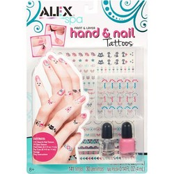 SPA Paint & Layer Hand and Nail Tattoos