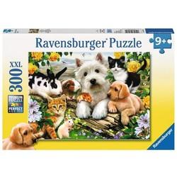 Happy Animal Buddies - 300 Piece XXL Puzzle
