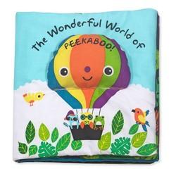 The Wonderful World of Peekaboo! Cloth Book