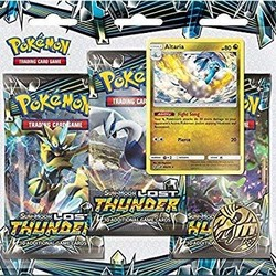 Pokemon TCG: Sun & Moon Lost Thunder Three Booster Blister Pack