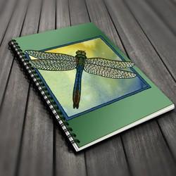 Go wild! Blank Journal - Dragonfly