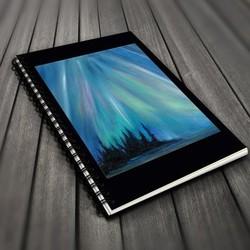 Go Wild! Blank Journals - Northern lights