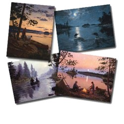 Old Canoe Country Notecard Pack