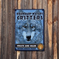 Boundary Waters Critters - Create & Color Coloring Book