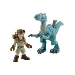 Jurassic World Imaginext Basic Figure & Dino Asst