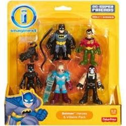 Imaginext DC Super Heroes & Super Villians Asst