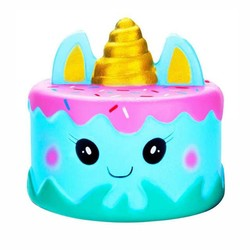 XXLarge Squishy - Golden Horn Unicorn Cake