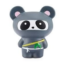 Medium Squishy - Black Panda Ninja