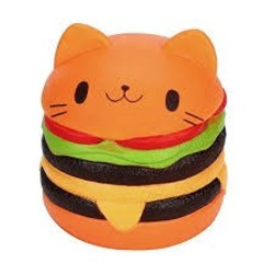 Small Squishy - Cat Hamburger