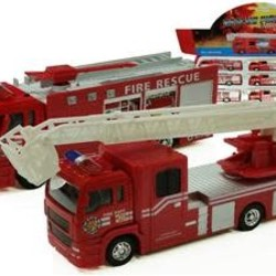 "7"" Diecast Fire Engine with Sounds & Light"