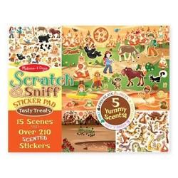 Scratch & Sniff Sticker Pad - Tasty Treats