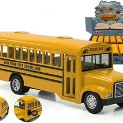 "6.5"" Diecast School Bus"