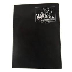 9-Pocket Binder: Mega Monster Matte Black