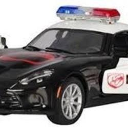 "5"" Diecast SRT Viper GTS Police"
