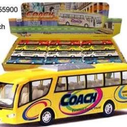 """7"""" Diecast Coach Bus"""