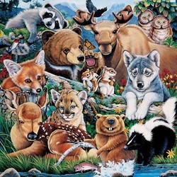 Animal Planet Forest Friends 100 Piece