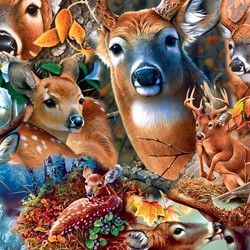 Realtree - Forest Beauties 1000 Piece