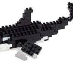 Nano Blocks - Orca