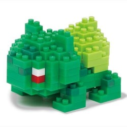Nano Blocks - Bulbasaur - Pokemon