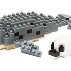 Nano Blocks - Spotted Seal