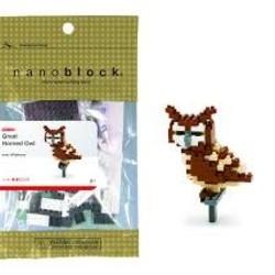 Nano Blocks - Great Horned Owl