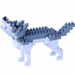 Nano Blocks - Gray Wolf