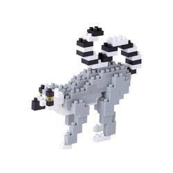 Nano Blocks - Ring-Tailed Lemur