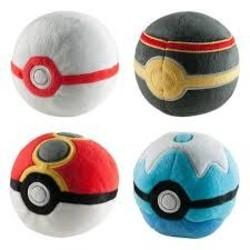 Pokemon Ball Plush Assortment Series 1
