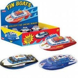 Tin Friction Boats